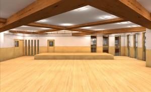 2階ホールパース1_カーテンレール検討_180206
